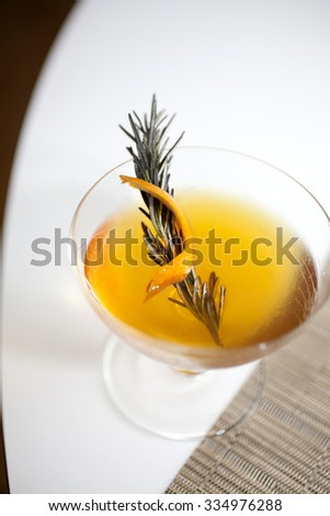 Craft cocktails - stock photo
