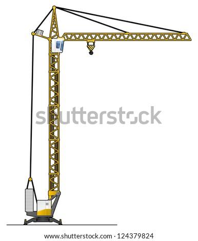 Cartoon Crane Stock Images Royalty Free Images Amp Vectors