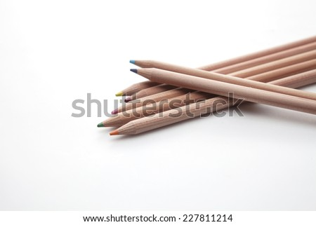 crayon color - stock photo