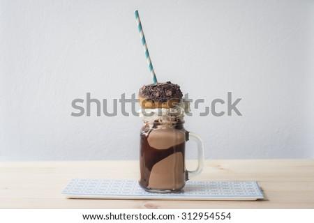 crazy food trend - stock photo