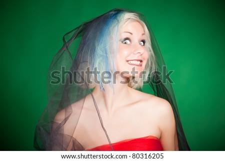 Crazy female cum shot