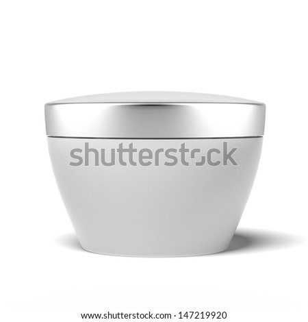 cream box - stock photo
