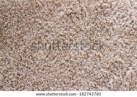 Cream carpet texture - abstract background - stock photo