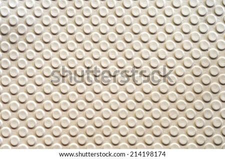 cream color texture of car - stock photo