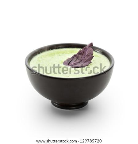 Cream of Broccoli Soup - stock photo