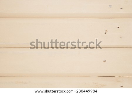 cream wooden board abstract - stock photo