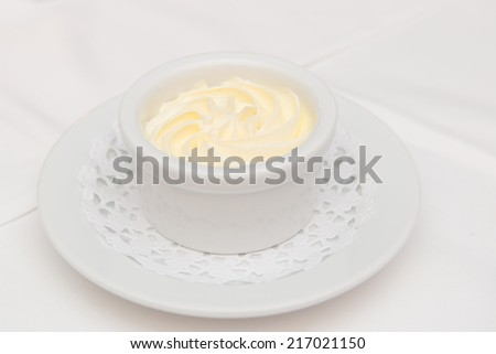 Creamy butter - stock photo