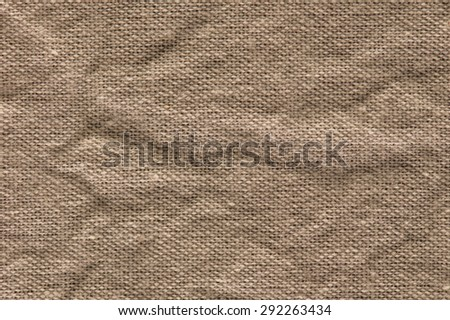 Crease brown abstract background. - stock photo