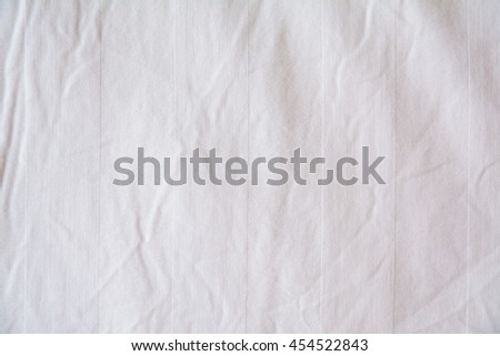 white bed sheet background. Creased, Wrinkled Of White Bedsheet As A Background Bed Sheet