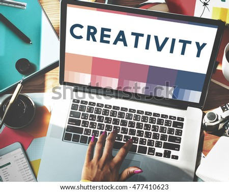 Create Creativity Ideas Design Concept