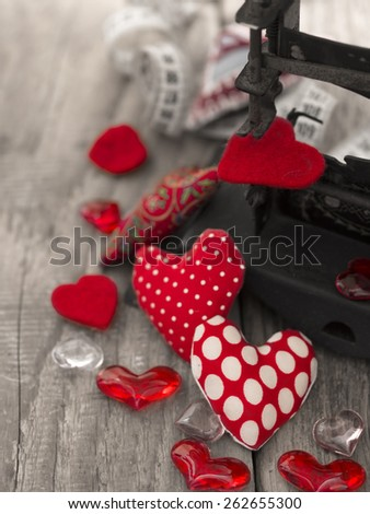 Create your Love by your Own, Your Life is Up to You - stock photo