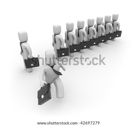 Creation of new business - stock photo