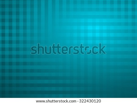 Creative abstract soft teal pixel style medical or business background illustration. Perfect for any communication arts. - stock photo