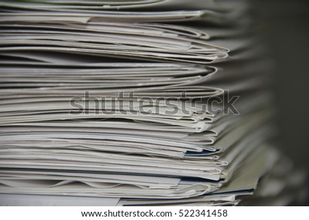 Creative background made of paper. Horizontal texture 2
