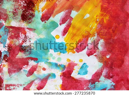 Creative background or Colorful background, Summer art - stock photo