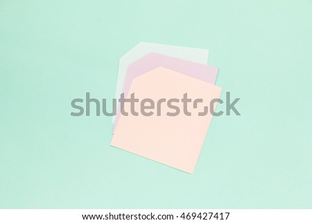 Creative colorful pastel paper background. Light and shadow.