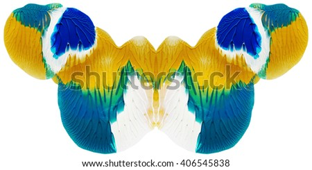 Creative concept acrylic element for prints and design - stock photo