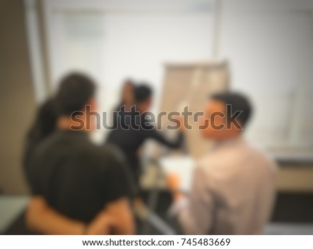 Creative Idea Teamwork Concept Group Of Young Bussiness Team Business Partner Or College