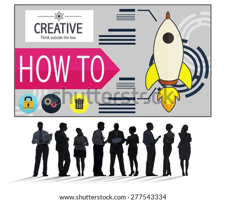 Creative Innovation Development Growth Success Plan Concept - stock photo