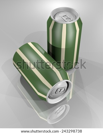 Creative render cans