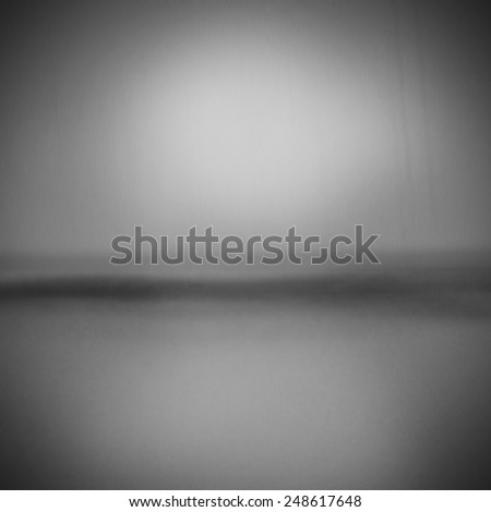 Creative surreal gray pattern with reflections and light - stock photo