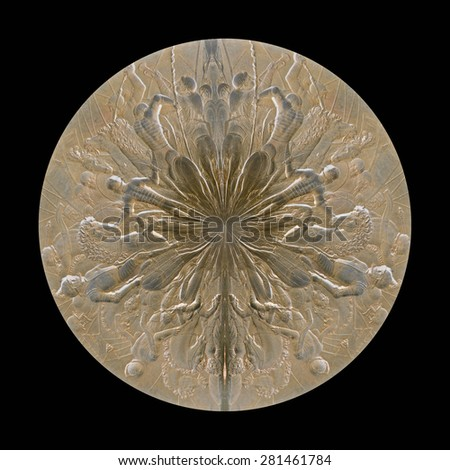 Creative talisman design - stock photo