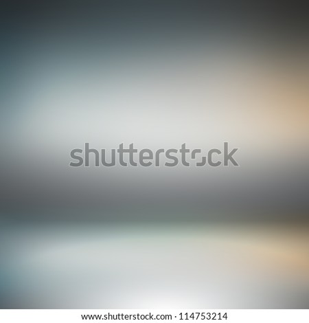 Creative technological spotlight background. Inside an empty studio room - stock photo