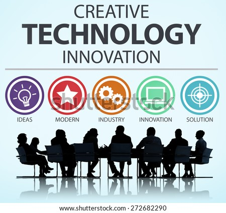 Creative Technology Innovation Media Digital Concept - stock photo