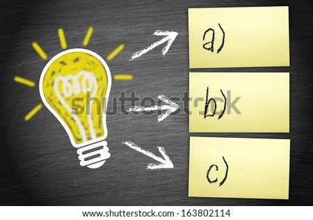 Creativity and Ideas - stock photo