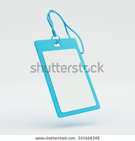 Credential Icon - stock photo