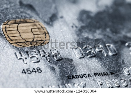 Credit card-financial background ( HDR image ) - stock photo