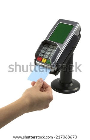 Credit card payment - stock photo