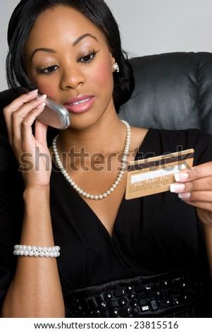 Credit Card Shopping - stock photo