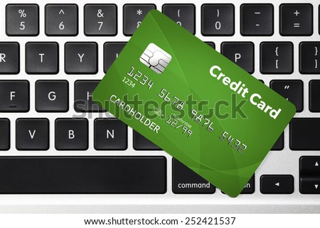Credit Card -  Shopping Concept
