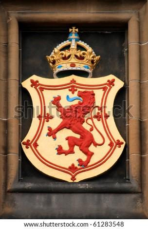 Crest - stock photo