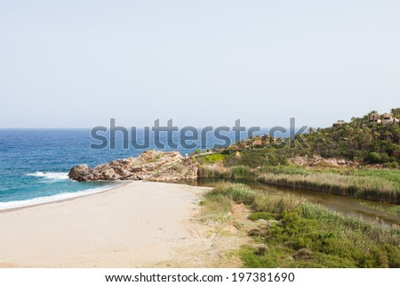 Crete - Greece - Geropotamos - stock photo