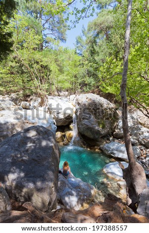 Crete - Greece - Idyll of the Samaria Gorge