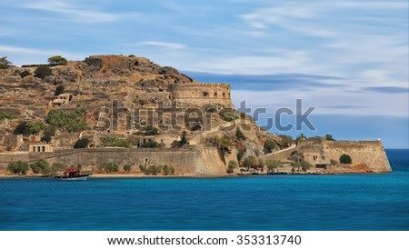 Crete island, Greece: the island of Spinalonga