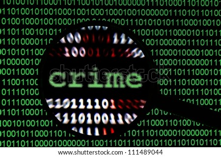 Crime - stock photo