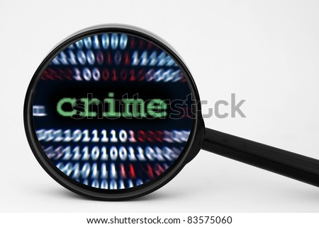 Crime - stock photo