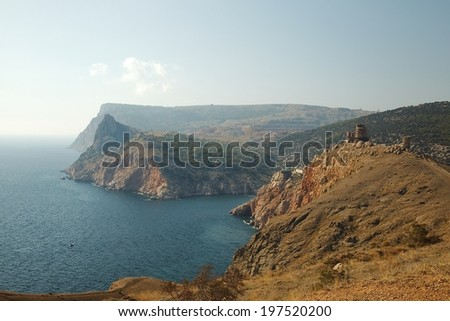 Crimean Landscape - stock photo