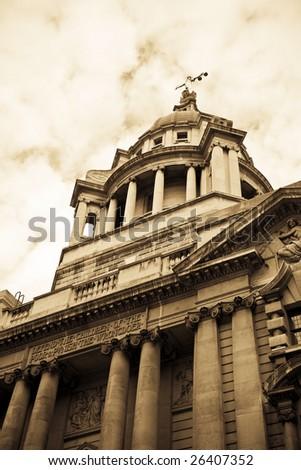 Criminal Court, London UK - stock photo