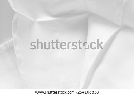 crinkled cloth serviette