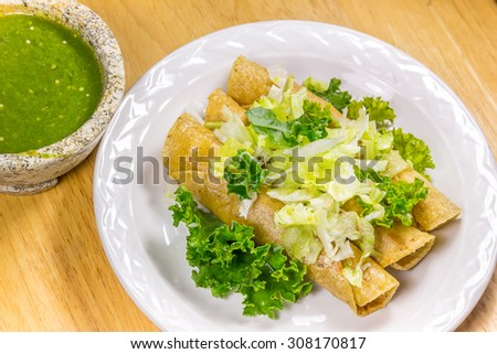 Crispy Fried Tacos
