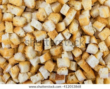 Crispy salted crackers. Background macro texture