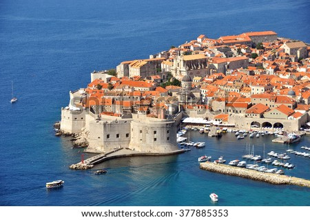 Croatia. Views of the city Dubrovnik