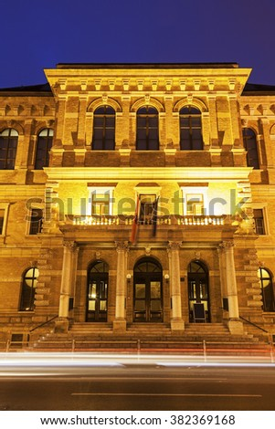 Croatian Academy of Sciences and Arts. Zagreb, Croatia