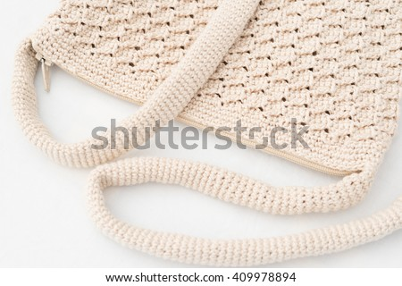 Crochet - weaving technique to work with yarn or string