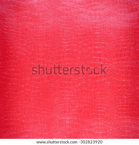 Crocodile leather Pink color with colorful background - stock photo