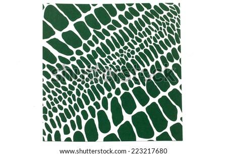 crocodile pattern - stock photo